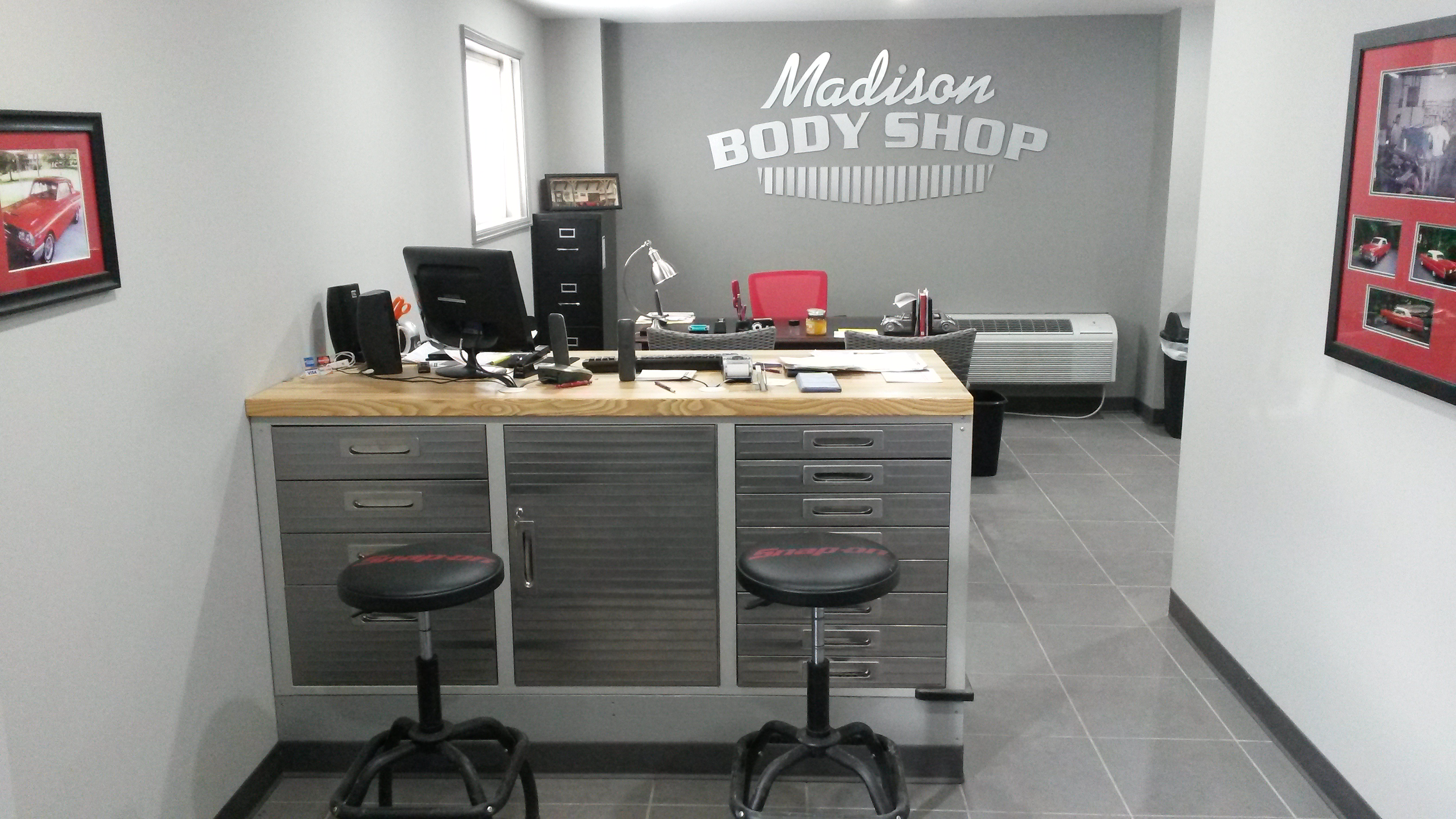 New Office for Madison TN Body Shop