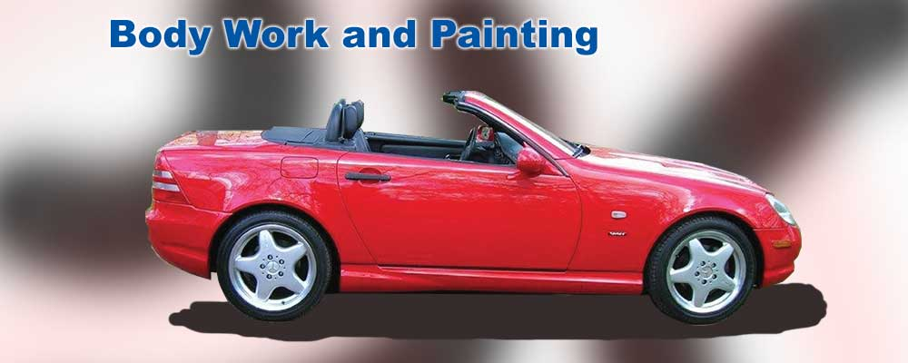paint and body work Nashville